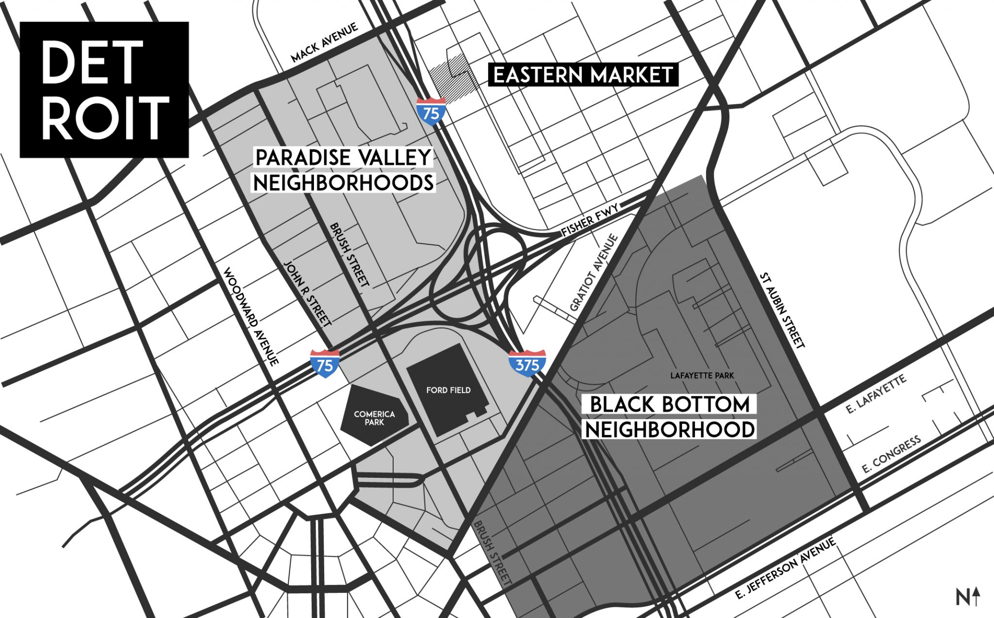 Detroit's Black Bottom and Paradise Valley, What Happened? 3
