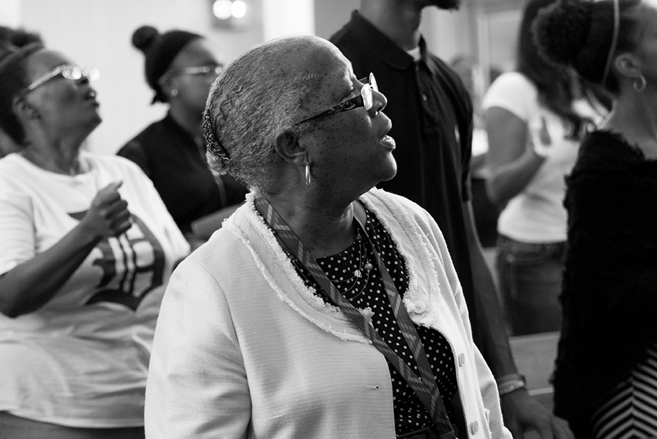 On Any Given Sunday You'll Find Transformation in Church Service in Detroit 15