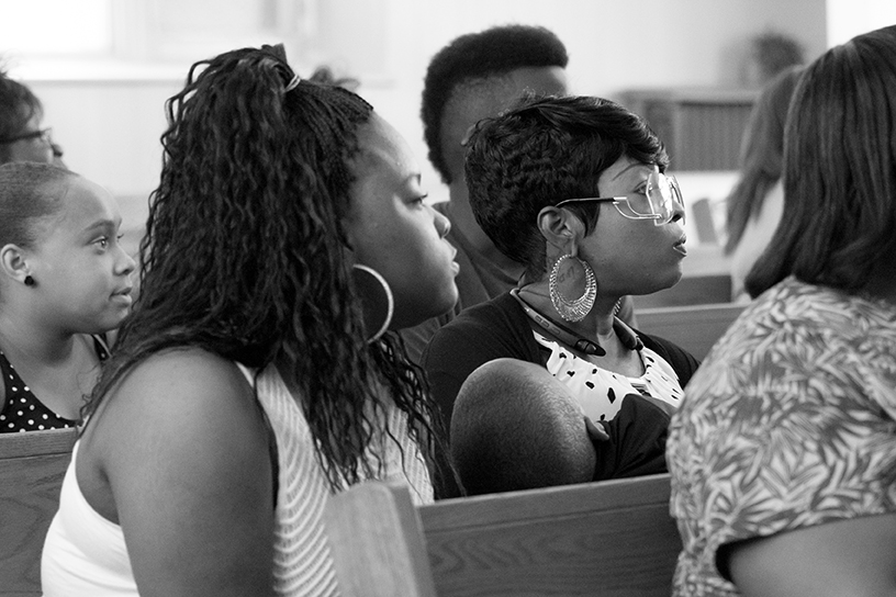 On Any Given Sunday You'll Find Transformation in Church Service in Detroit 17