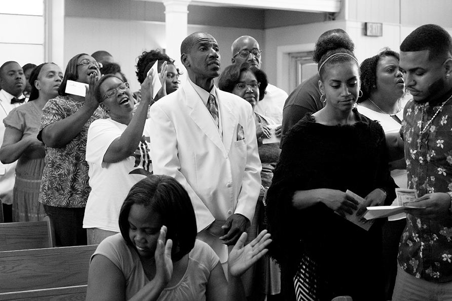 On Any Given Sunday You'll Find Transformation in Church Service in Detroit 7