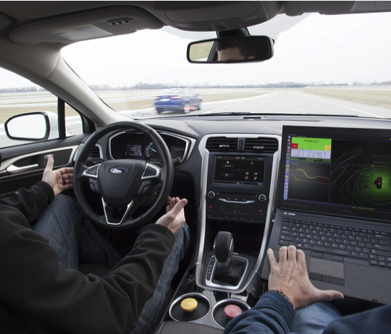 SELF DRIVING COURTESY OF FORD MOTOR COMPANY