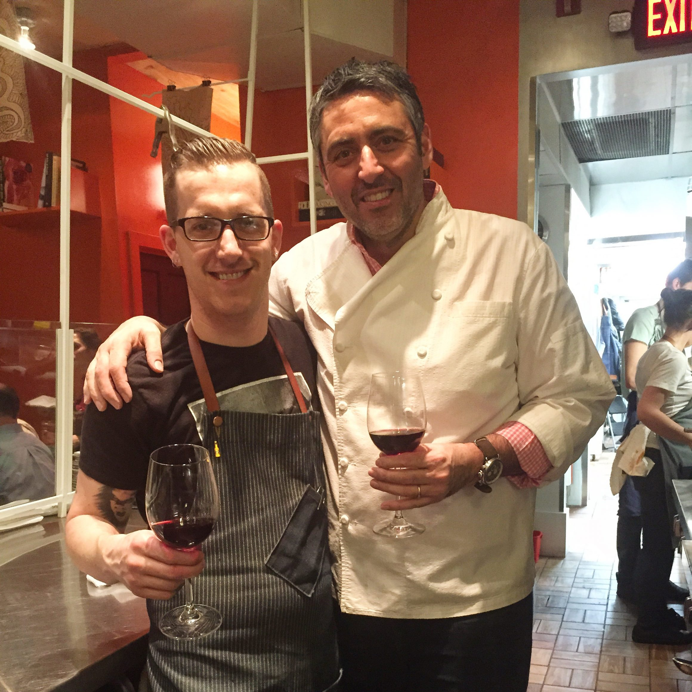 Talking with Others and Chef James Rigato & Luciano Del Signore 1