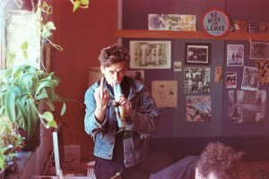 Parsons in the studio. Photo Chris Koltay