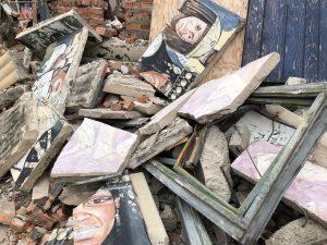 Mural Pieces. Photo LaDetroit