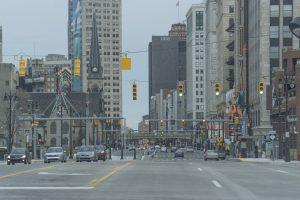 Detroit City Streets. Photo Katai