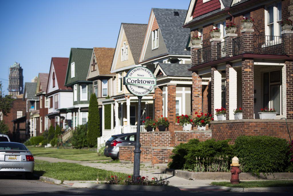 CORKTOWN'S HISTORIC ROW HOUSES