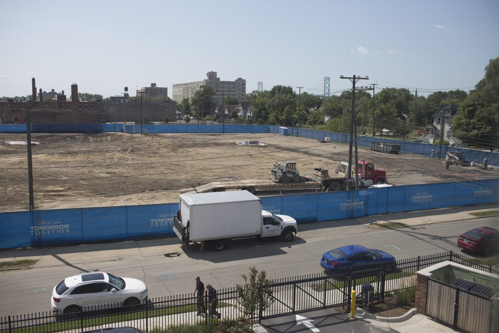 FORD LAND PURCHASE OF THE FORMER BRASS FACTORY LOCATED BEHIND THE FACTORY BUILDING IN CORKTOWN