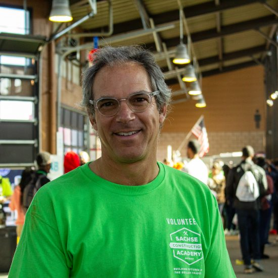 TODD SACHSE OF THE SACHSE CONSTRUCTION ACADEMY. PHOTO JOHN BOZICK