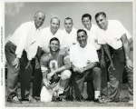 PLIMPTON FOOTBALL PHOTO DETROIT HISTORICAL SOCIETY