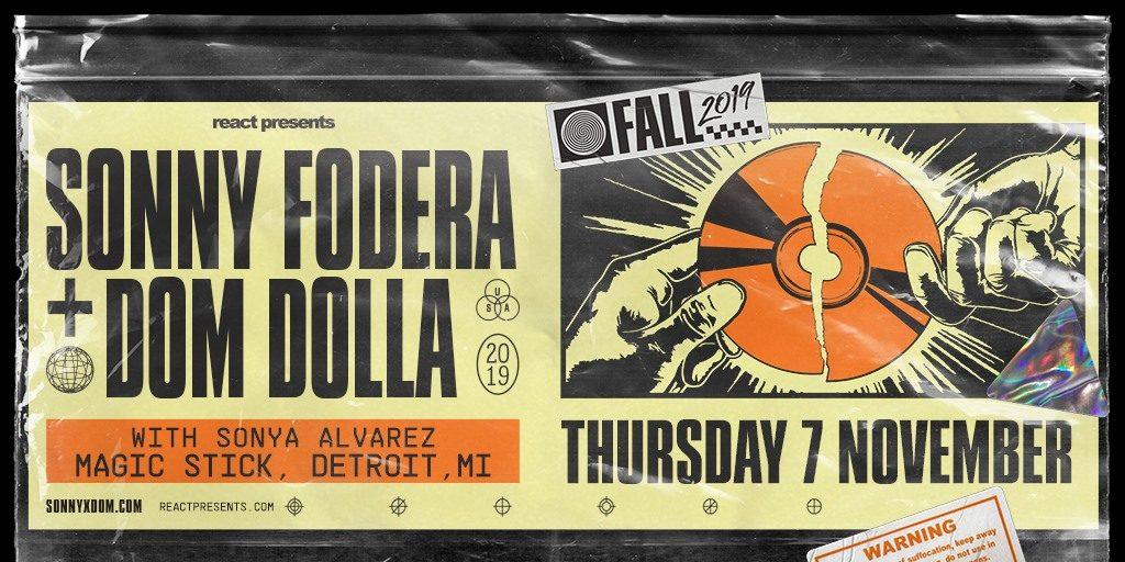 SONNY FODERA / DOM DOLLA / SONYA ALVAREZ