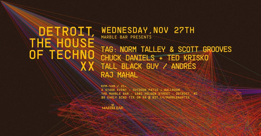 DETROIT THE HOUSE OF TECHNO
