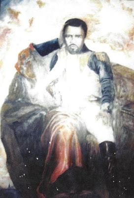 BERRY GORDY AS NAPOLEON BY ARTIST DEVON CUNNINGHAM