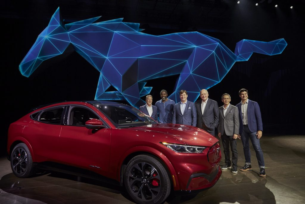 MUSTANG MACH-E REVEAL. PHOTO COURTESY OF FORD MOTOR COMPANY