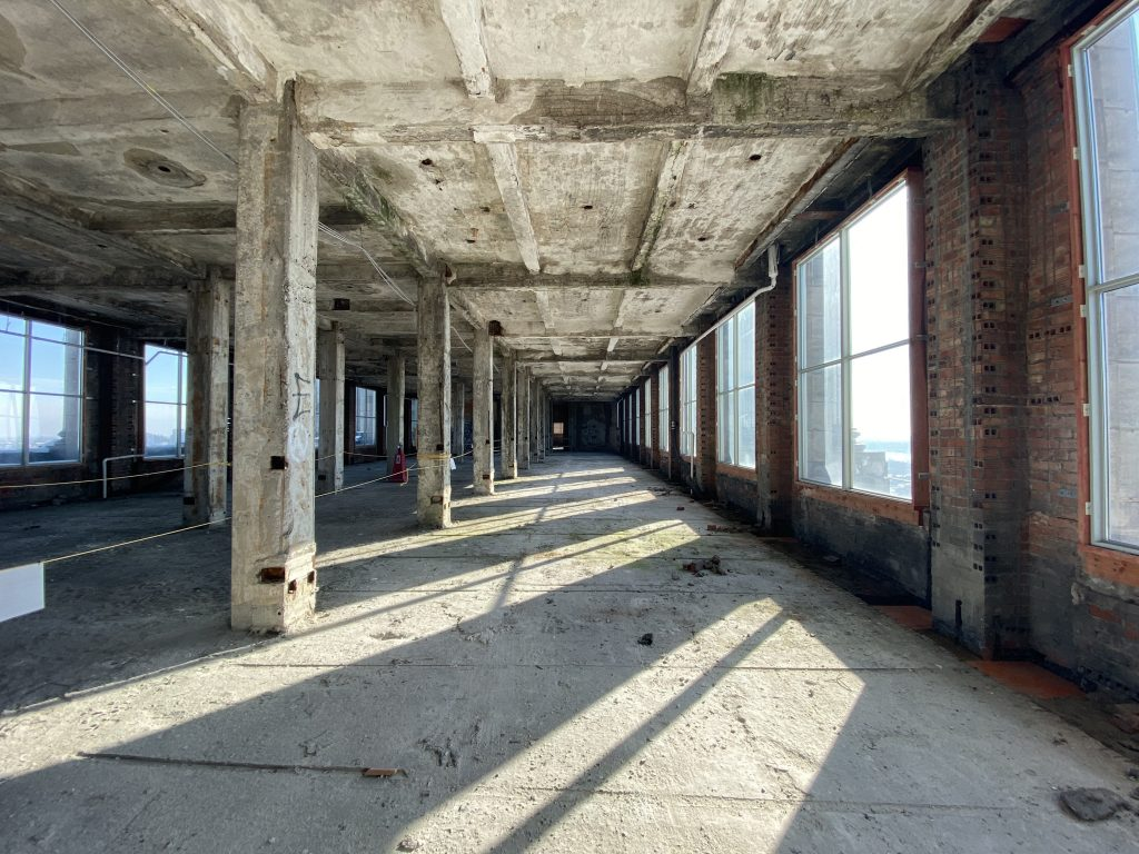 THE 12TH FLOOR OF MICHIGAN CENTRAL STATION. PHOTO KATAI