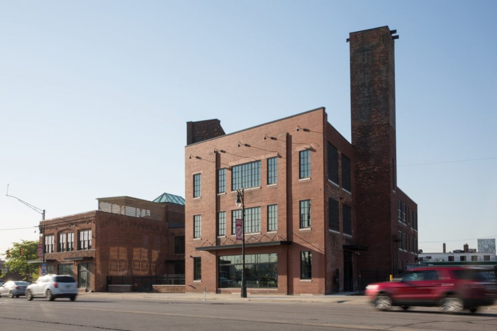 THE FORD INNOVATION CENTER IN CORKTOWN PHOTO COURTESY OF FORD MACH-E