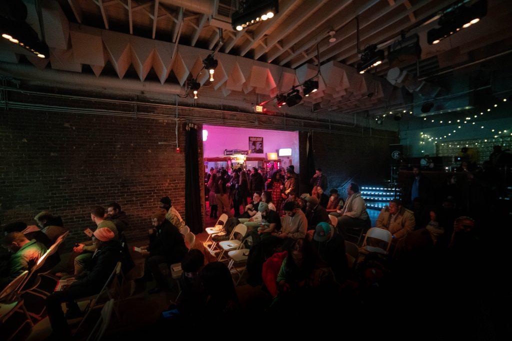 GBETA PITCH NIGHT AT EL CLUB. PHOTO ACRONYM