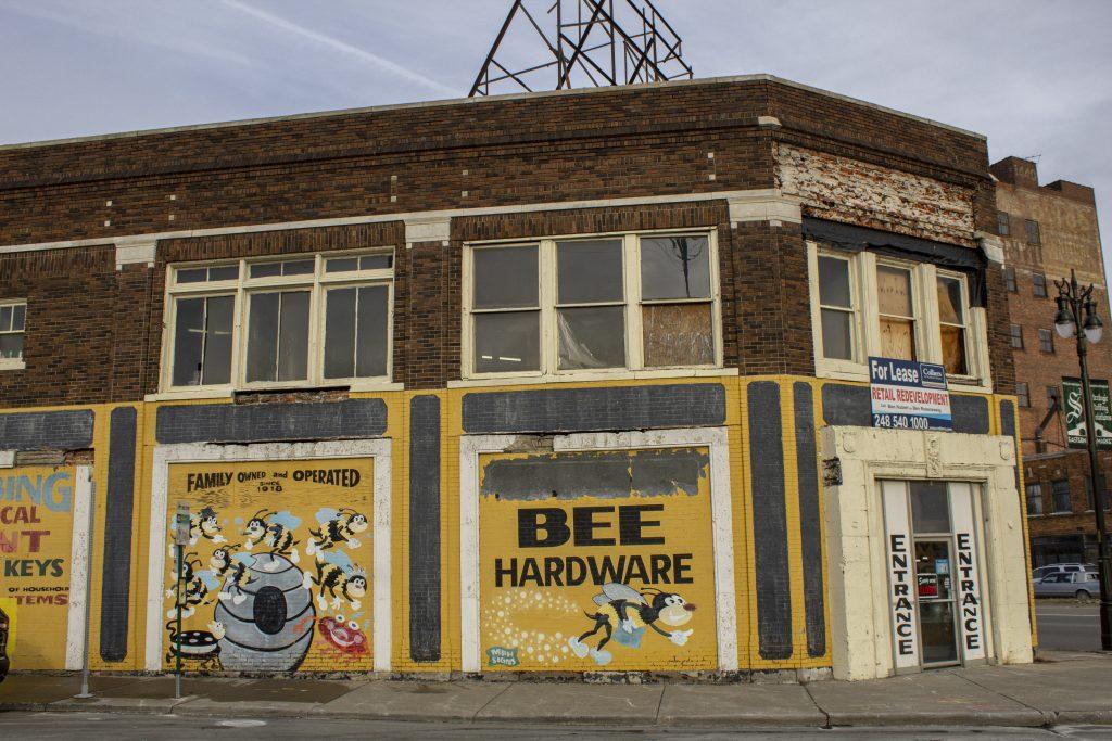 THE FORMER LOCATION OF BUSY BEE HARDWARE. PHOTO JOHN BOZICK