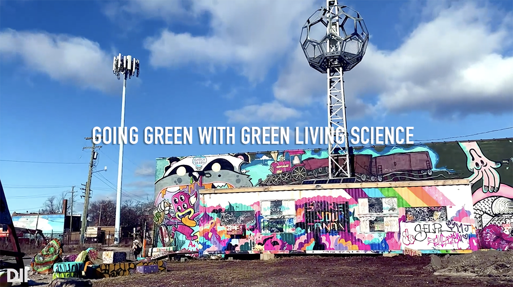 GOING GREEN WITH GREEN LIVING SCIENCE. IMAGE AMI NICOLE / ACRONYM