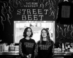STREET BEET'S NINA PALETTA AND MEGHAN SHAW. PHOTO + VIDEO AMY NICOLE / ACRONYM