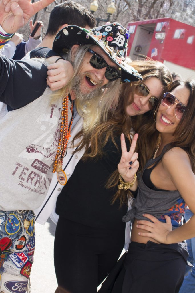 PARTYGOERS AT TIGERS OPENING DAY. PHOTO AMY NICOLE / ACRONYM