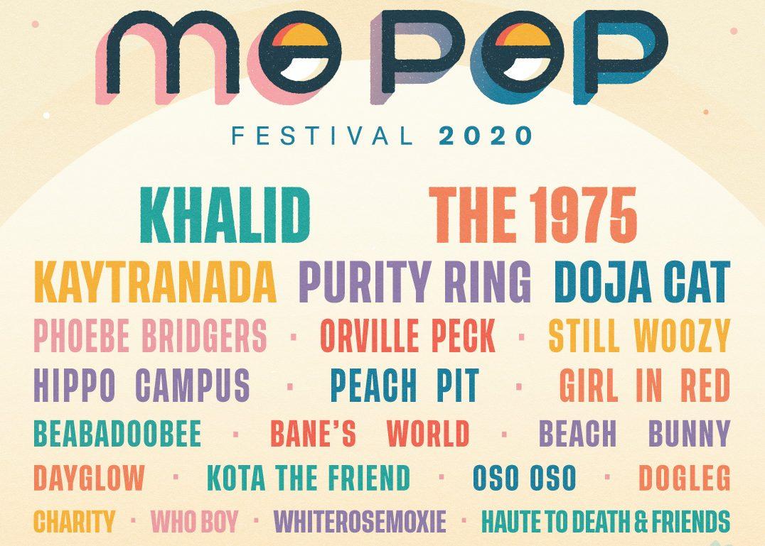 MO POP FESTIVAL LINEUP
