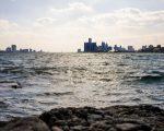 DETROIT FROM BELLE ISLE. PHOTO AMI NICOLE / ACRONYM