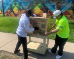 TABLE 2'S OMAR MITCHELLE DELIVERING MEALS SATURDAY TO NSO HOMELESS
