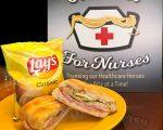 SAUCY JOE'S NOODLES FOR NURSES CAMPAIGN. PHOTO SAUCY JOE'S