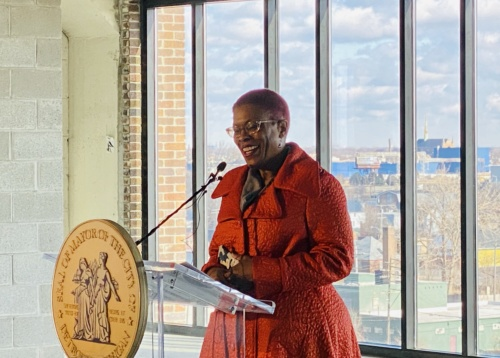 ROCHELLE RILEY, DIRECTOR OF ARTS AND CULTURE FOR THE CITY OF DETROIT