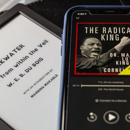 THE RADICAL KING AND DARKWATER ARE TWO ESSENTIAL READS THAT DISCUSS RACE, CLASS AND THE CRIMINAL JUSTICE SYSTEM. PHOTO JOHN BOZICK