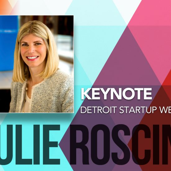 JULIE ROSCINI, FORD'S HEAD OF EXTERNAL ENGAGEMENT FOR MICHIGAN CENTRAL