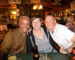 LARRY MONGO, FIONA CALLAM, AND JASON, REGULARS FROM SCOTLAND