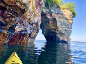 PICTURED ROCKS. PHOTO PICTURED ROCKS FACEBOOK PAGE