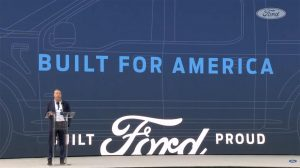 BILL FORD AT THE ANNOUNCEMENT