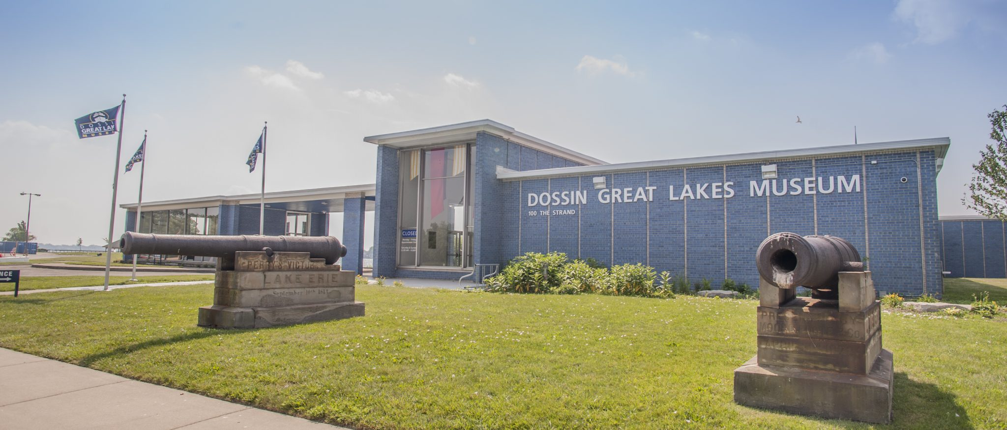 THE DOSSIN GREAT LAKES MUSEUM. PHOTO DETROIT HISTORICAL SOCIETY