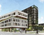 affordable housing: A RENDERING OF THE BRUSH WATSON DEVELOPMENT IN THE HISTORIC BRUSH PARK NEIGHBORHOOD
