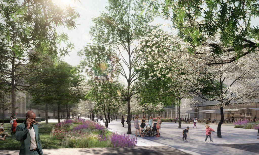 Four Definitive Public Space Projects Redefining Public Spaces in Detroit 3