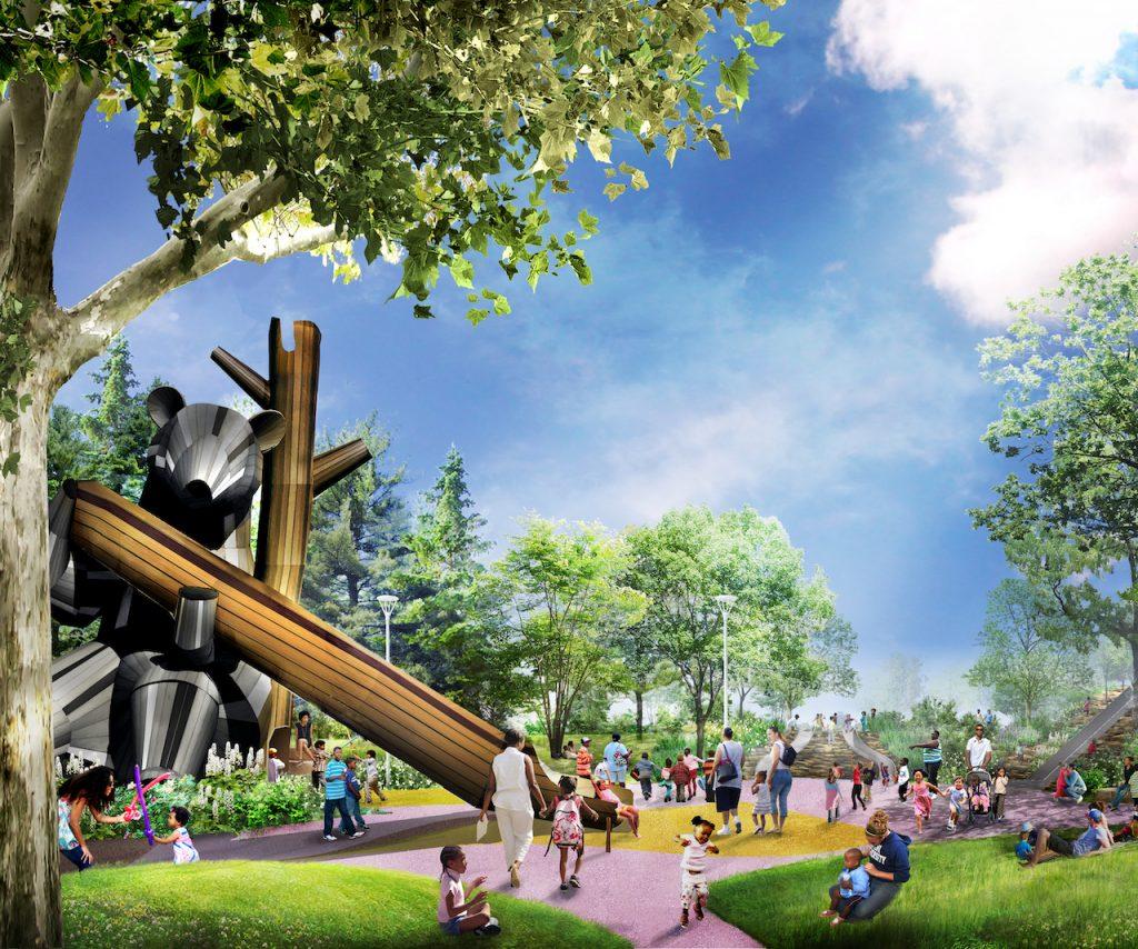 Four Definitive Public Space Projects Redefining Public Spaces in Detroit 4