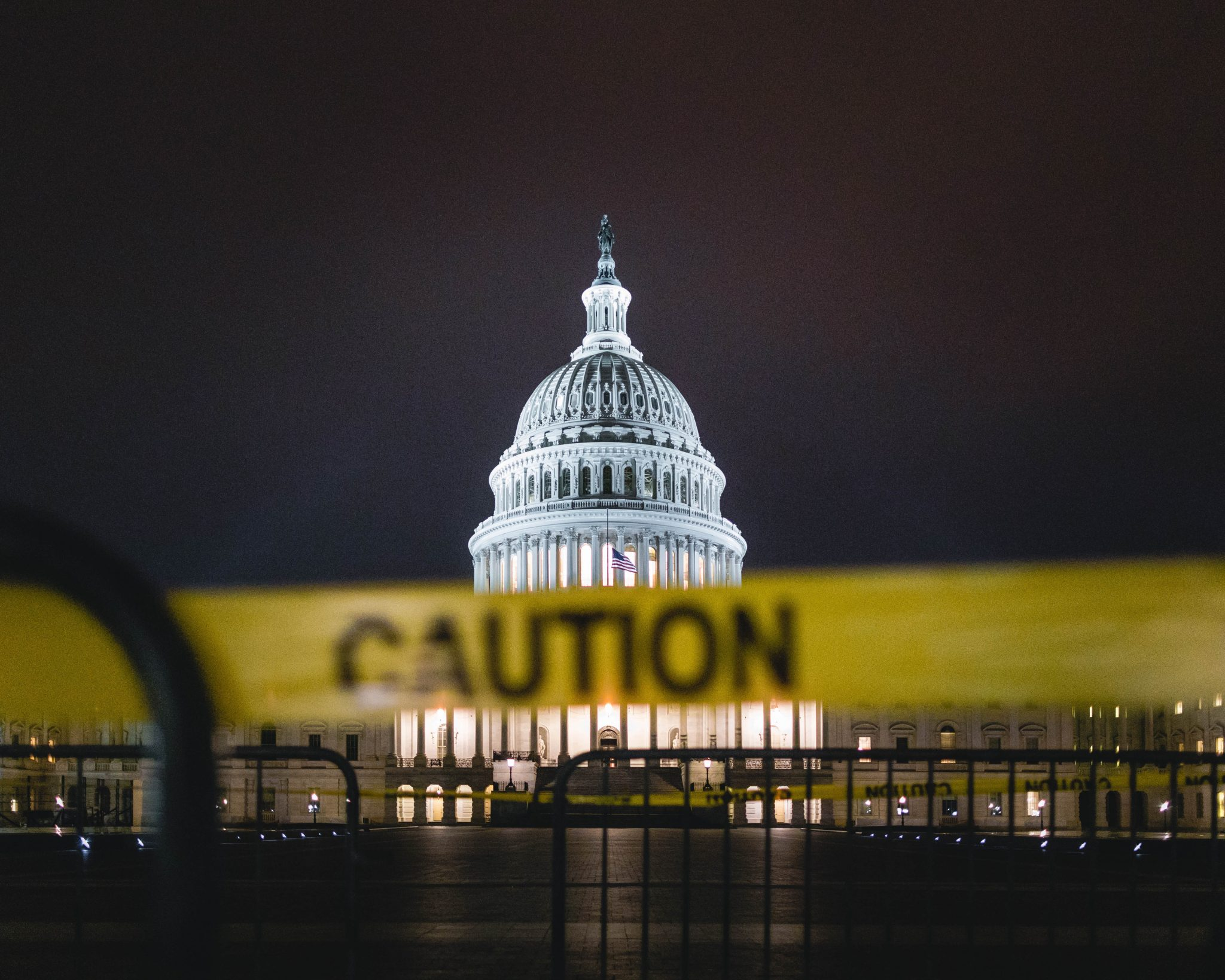TRUMP SUPPORTERS STORM CAPITOL // THE CAPITOL BUILDING. PHOTO UNSPLASH