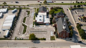 stormwater management SACRED HEART CHURCH IN EASTERN MARKET. PHOTO THE NATURE CONSERVancy
