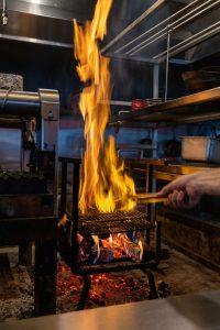 BARDA FIRE GRILL; PHOTO EMMA SANDLER