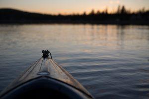 KAYAKING IN THE SUMMER; PHOTO CARL HEYERDAHL; UNSPLASH