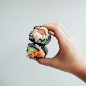 SUSHI; PHOTO FRANK ZHANG; UNSPLASH FOOD AND BEVERAGE