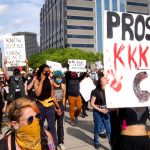 BLM PROTESTS 2020. RACIAL BIAS, PROFILING AND VIOLENCE ON BEHALF OF LAW ENFORCEMENT IS A LARGE COMPONENT OF SYSTEMIC RACISM IN AMERICA. PHOTO LUCAS RESETAR