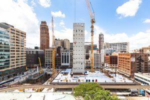 BEDROCK'S HUDSONS SITE CONSTRUCTION