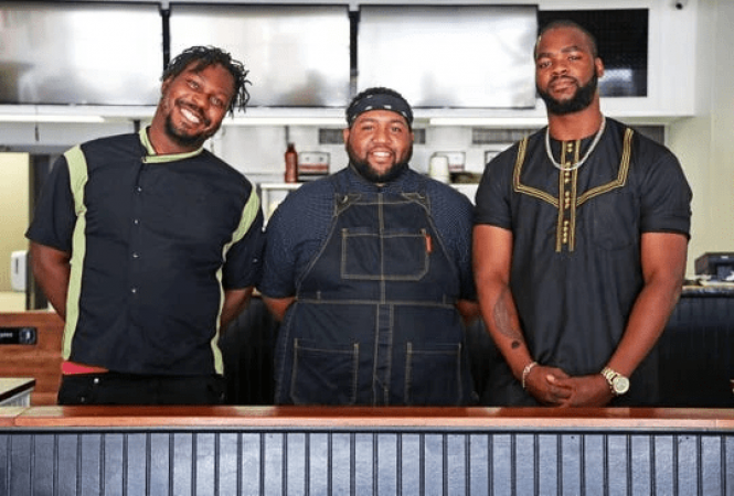 BLACK-Owned YUM VILLAGE CHEF AND TEAM