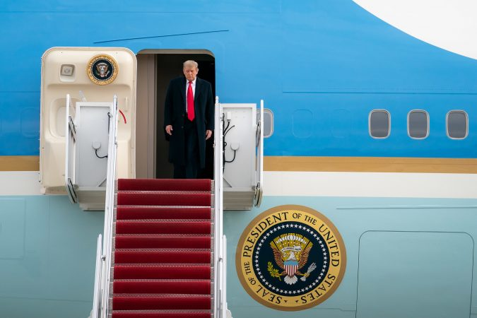 DID TRUMP COMMIT ELECTION FRAUD? // PRESIDENT TRUMP SHORLTY BEFORE THE NEW YEAR. PHOTO WHITE HOUSE / TIA DUFOUR