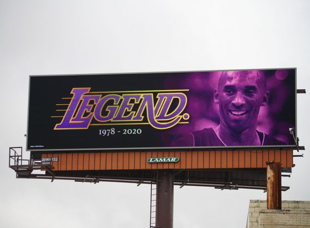 Kobe Bryant BILLBOARD ON I-94. PHOTO AMI NICOLE / ACRONYM