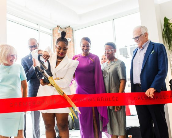 CREME BRULEE'S GRAND OPENING. RETAIL IN DETROIT