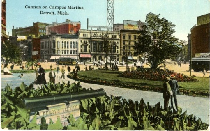 Campus Martius 1915, Courtesy of Detroit Historical Society
